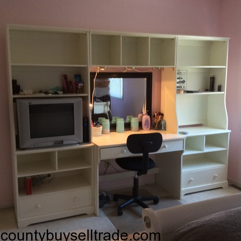 Wall Units With Desk. Cheap Home Design Remarkable Modern Office ...
